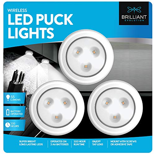 Led Light Puck Under Cabinet in US - 4