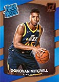 #10: 2017-18 Panini Donruss Basketball #188 Donovan Mitchell Rookie Card - Rated Rookie