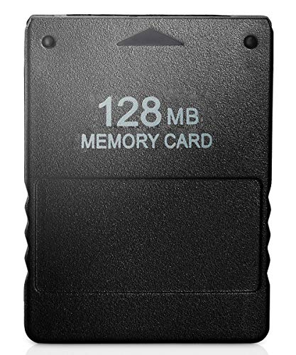 VOYEE PS2 Memory Card, 128MB High Speed Memory Card Compatible with Sony Playstation 2