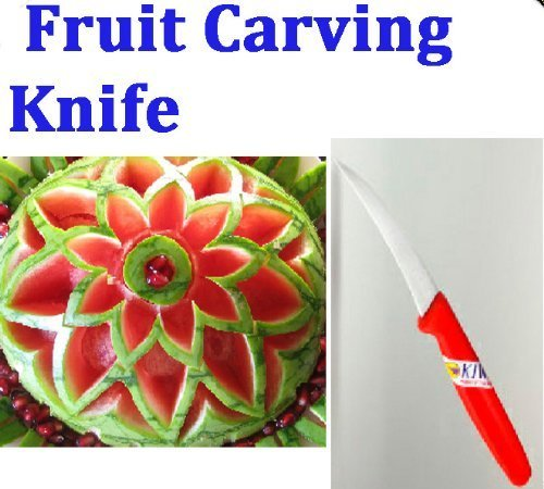 ''Click Thai''!! Peeler Fruit and Vegetable Carving Knife Blade Culinary Art Tool by Kiwi