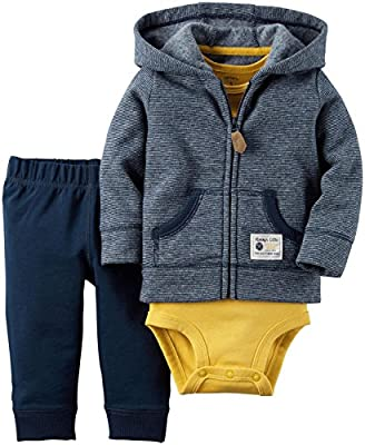 Carter's 3 Piece Cardigan Set (Baby)