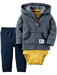 Carter's Baby Boys Cardigan Sets, Navy, New Born