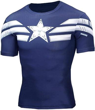 Lklik Pantera Negra Camiseta 3D Hombres Camisa de compresión Camiseta Anime MMA Rashguard Culturismo Hombres Fitness Marvels: Amazon.es: Ropa y accesorios