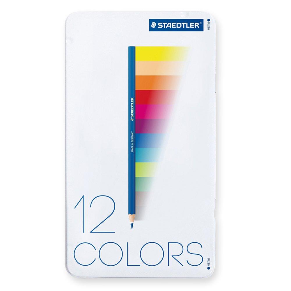 ステッドラー 色鉛筆 ノリスクラブ 12色 145 M12-1 12色セット  B00IHTCBWQ