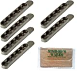 Nimrod's Wares Bianchi .38 .357 Speed Strips x 6 6 Rounds 580 Microfiber Cloth