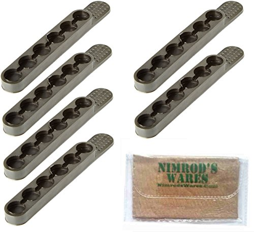 Nimrod's Wares Bianchi .38 .357 Speed Strips x 6 6 Rounds 580 Microfiber Cloth by Nimrod's Wares