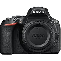 Nikon D5600 24.2MP DSLR Touchscreen Camera with SnapBridge Bluetooth and Wi-Fi with NFC (Body Only)