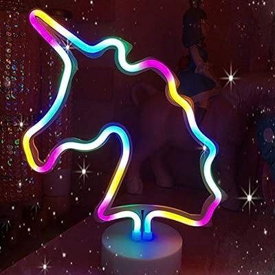 Néon Lampe Forme De C35rja4ql Ledmomo Led Licorne Nuit Lumière En qzGLUVjSMp
