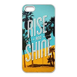 iPhone 4 4s Cell Phone Case White Rise And Shine SLI_769246
