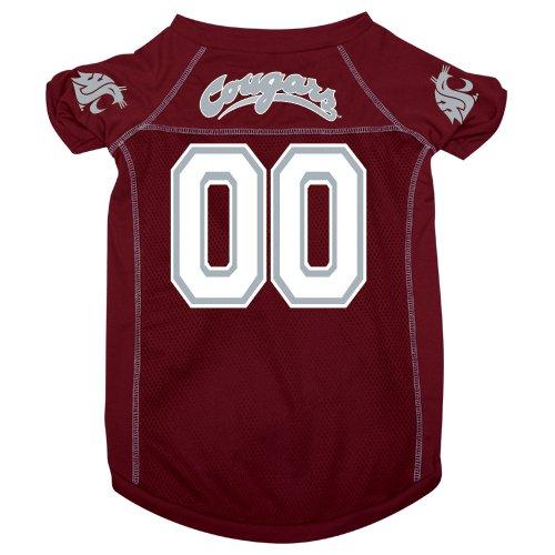 NCAA Washington State Cougars Pet Jersey, Maroon, X-Large, My Pet Supplies