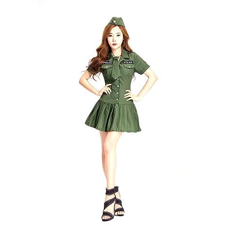 GAOJUAN Disfraz De Halloween Disfraz De Policía Femenina ...