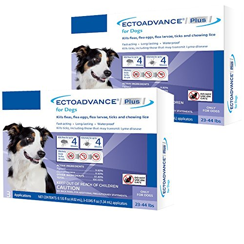EctoAdvance Plus for Dogs 2344 lbs (6 Doses) by EctoAdvance