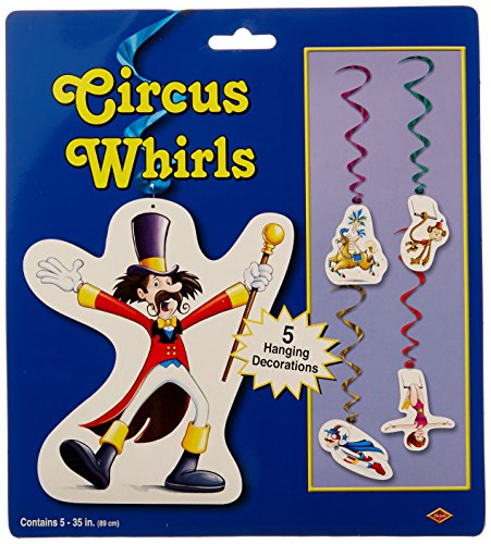 Circus Whirls   (5/Pkg)