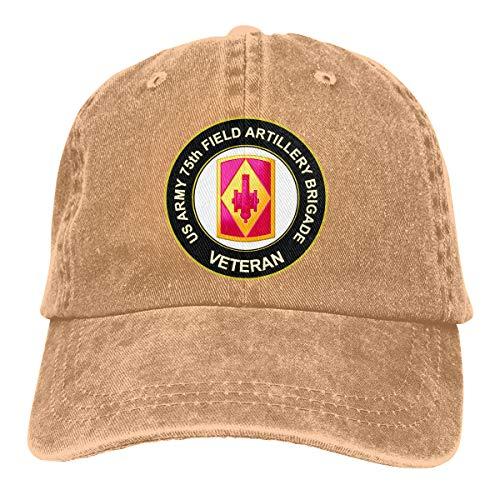 Giun Oppopoi U.S. Army 75th Field Artillery Brigade Veteran Baseball Caps Hat for Men Or Women