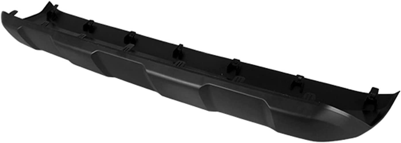 2016-2018 Toyota Avalon Rear Lower Valance Panel; Textured Finish; Made Of Pp Plastic Partslink TO1195111
