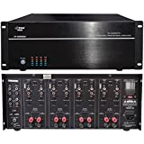 8000 watt home amp - 8-Channel, 8,000-Watt Stereo/Mono Amp