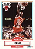 #4: 1990-91 Fleer #26 Michael Jordan Basketball Card Chicago Bulls
