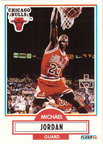 1990-91 Fleer #26 Michael Jordan Basketball Card Chicago Bulls ()