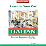 Learn in Your Car: Italian, Level 1 | Henry N. Raymond