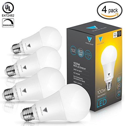 100 Watt Dimmable Led Light Bulbs - 6