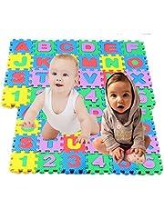 36PCS Baby Kids Alphanumeric Educational Puzzle Foam Mats Blocks Toy Gift