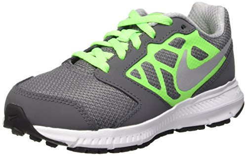Downshiffter Unisex Grey Grn Verde Indoor Nike Gs Kids' Dark Shoes Gry Blanco Ps Wlf Gris Multisport wht vltg 6 A1Iqg
