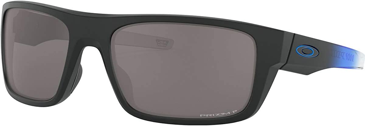 Oakley Men s OO9367 Drop Point Rectangular Sunglasses
