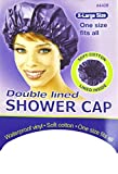Annie X-Large Size Doubled Lined Shower Cap (White) #4408