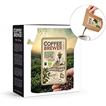 Coffee Gift Box Assortment, Pour Over Coffee, 5pcs CoffeeBrewer by Grower's Cup - Perfect Father's Day Gift