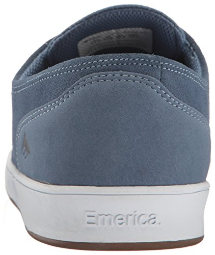 Emerica Laced by Leo Romero - Zapatillas de Skateboarding de ante hombre Blue
