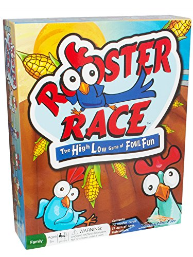 Funny Games - Play Rooster Race Card Game