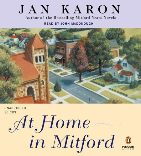 At Home in Mitford by Penguin Audio