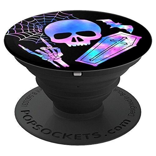 ffin Bat Spider Web Skeleton - PopSockets Grip and Stand for Phones and Tablets ()