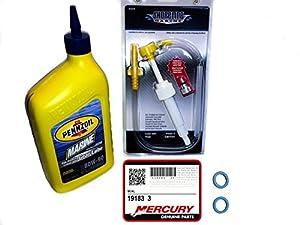 Mercury outboard inboard lower unit gear lube for Winterizing yamaha 300 outboard