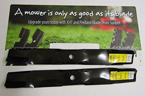 2 USA XHT HD BLADES FOR JOHN DEERE M154062 42