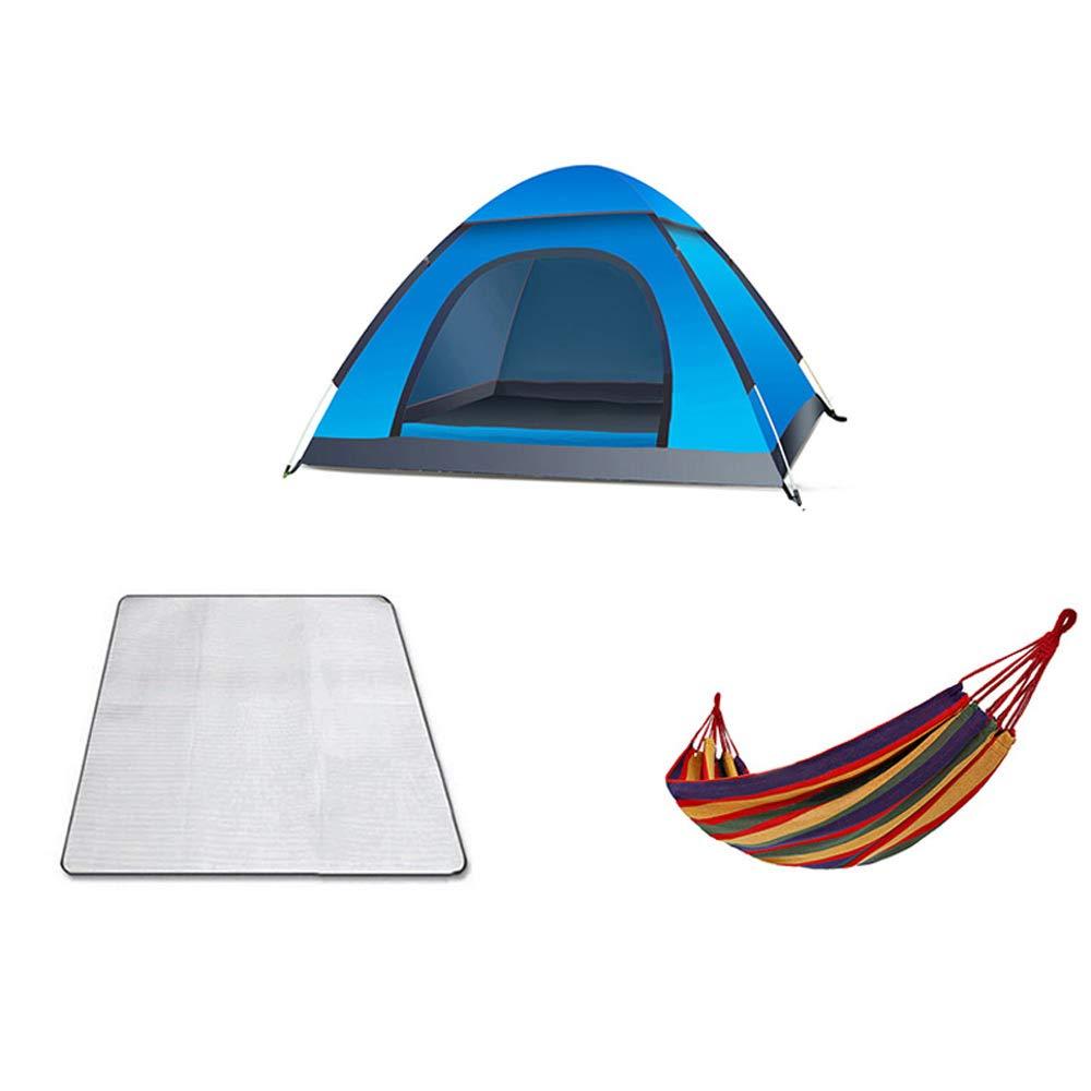 LiRongPing Tenda all'aperto Caldo Campeggio Famiglia Spessa Inverno Impermeabile Panno di Oxford, Grande Campeggio Pieghevole Portatile Antipioggia, Tenda