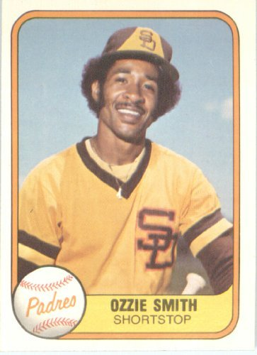 - 1981 Fleer Baseball Card #488 Ozzie Smith