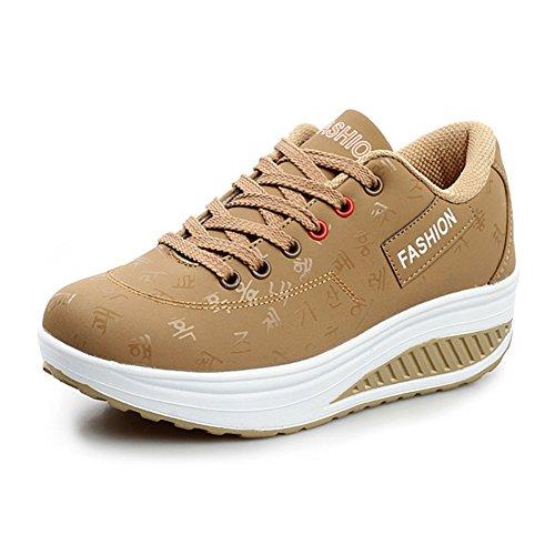 Baskets 1 Marche khaki Chaussures de Respirant Sports Femmes wXv6Rqv