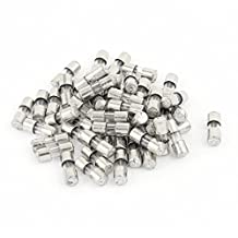 50pcs 10x4mm AC 250v 2.5A Slow Blow Acting Miniature Glass Fuse Tube
