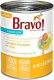 (Case of 12) Bravo! Canine Cafe Chicken Fricassee Canned Dog Food – 12.5oz Cans