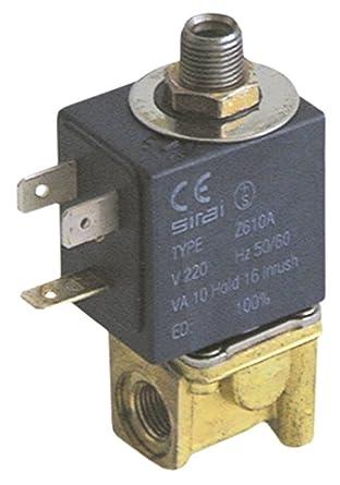 SIRAI - Válvula magnética para cafetera Bezzera BZ35, BZ40 ...