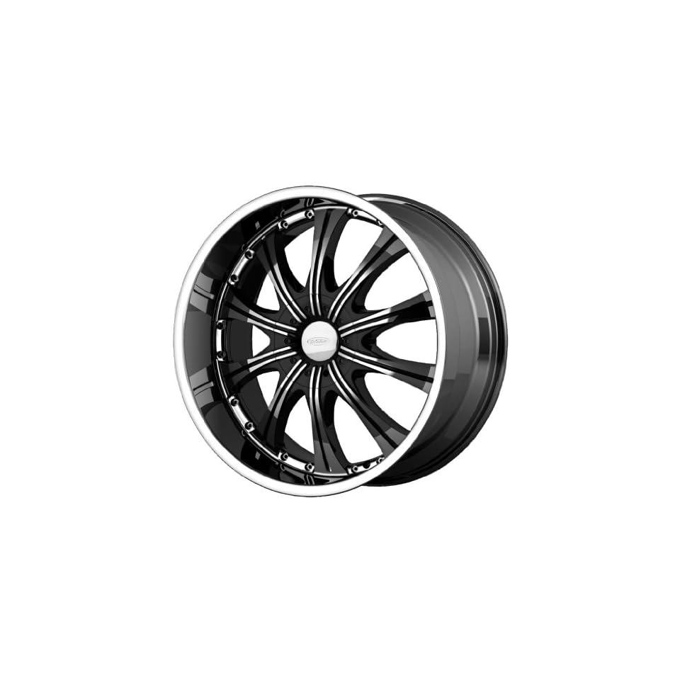Diamo DI030 20x8.5 Black Wheel / Rim 5x112 & 5x4.5 with a 38mm Offset and a 72.60 Hub Bore. Partnumber DI03028546338
