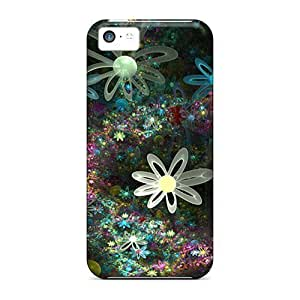 5c Scratch-proof Protection For Iphone/ Hot Flower Phone Case