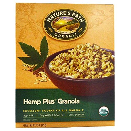 (Nature's Path, Organic Hemp Plus Granola Cereal, 11.5 oz (325 g)(pack of 3))