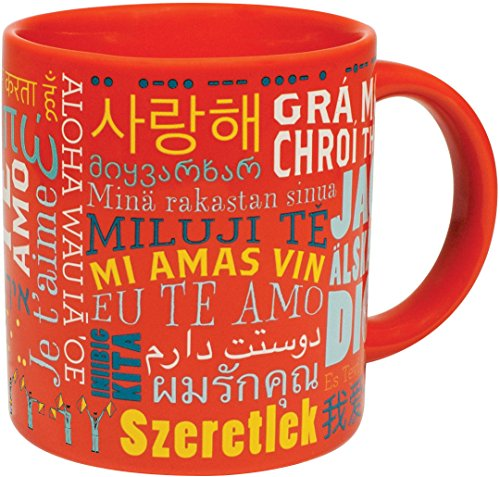 Love Languages Mug - Says I Love You Forty Different Ways - For your Husband, Wife, Boyfriend, or Girlfriend - Comes in a Fun Gift Box