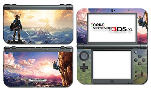 Nintendo Ds Vinyl Skin - Zelda Breath of the Wild BOTW Hyrule World Video Game Vinyl Decal Skin Sticker Cover for the New Nintendo 3DS XL LL 2015 System Console