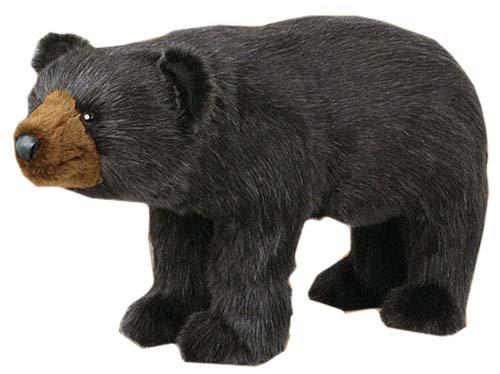 Bear Footstool - Bear Footstool (Black Bear)