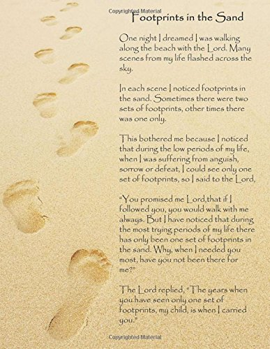 Footprints in the Sand: A Large (8.5\