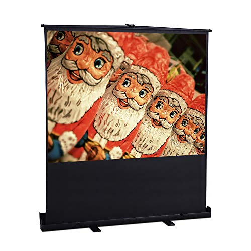 FurniTure Projector Screen Pull Up Projection Screen Portable Projector Screen 100 inch 4:3 Support Home Theater Outdoor - Furniture Projector