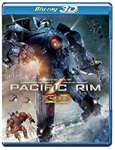 Cover Image for 'Pacific Rim (Blu-ray 3D + Blu-ray + DVD + UltraViolet Combo Pack)'